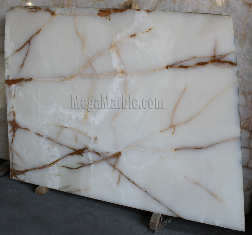 White Onyx For Countertops Slabs