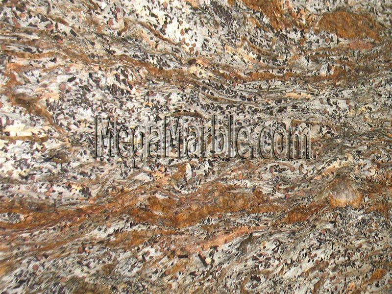 copper-meteorite-granite