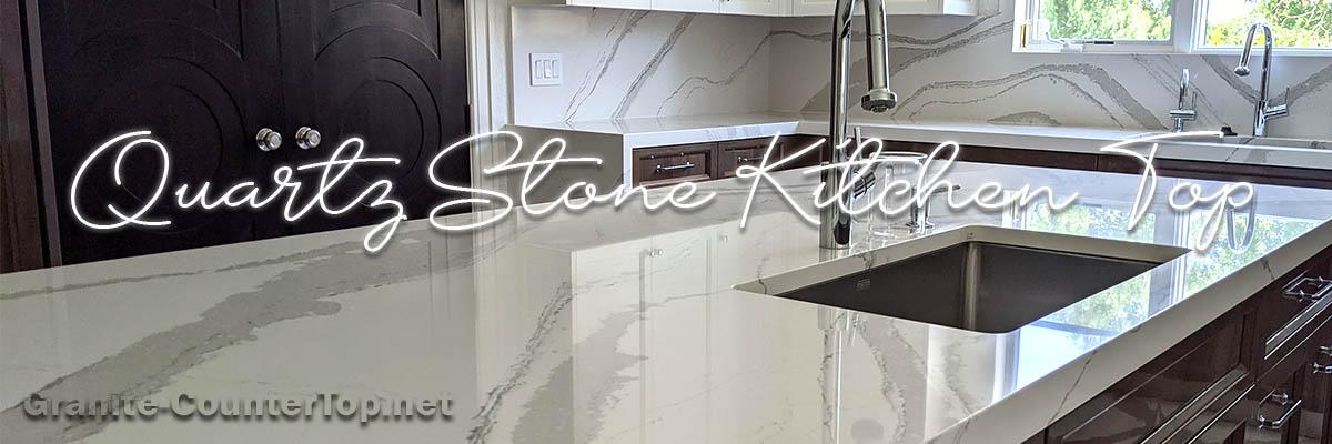 Quartz Stone Kitchen Top